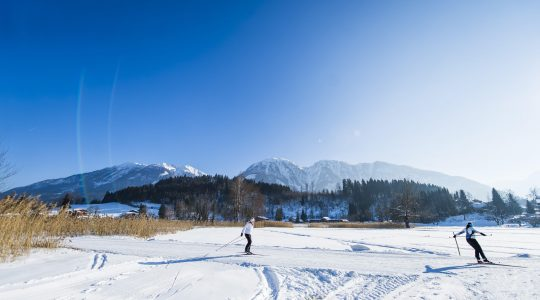 Langlaufparadijs in het Salzburgerland