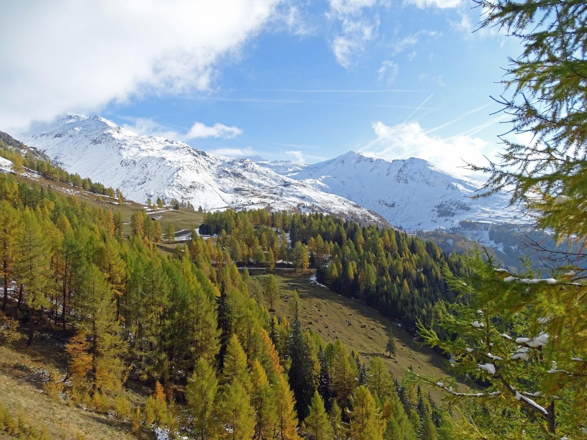 Grossglockner Hochalpenstrasse in de herfst