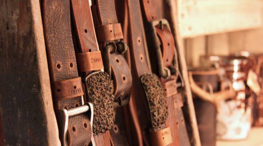 Handgemaakte leren accessoires uit het Salzburgerland