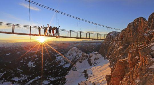 5 spectaculaire hangbruggen in Oostenrijk