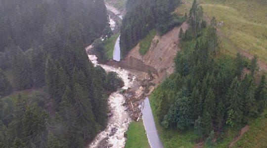 Noodweer in Oostenrijk na prachtige zomerweek
