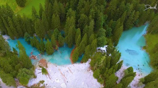 Prachtige beelden van nieuwe bergmeertjes in Kleinarl