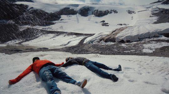 Start van het skiseizoen in Sölden