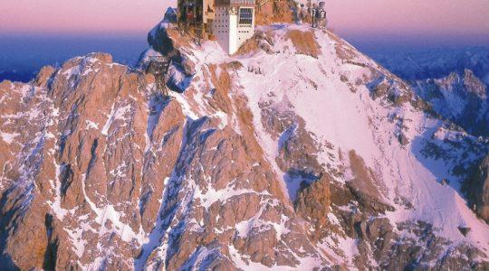 Zugspitze: 360° panorama