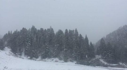 """Zo ziet de eerste """"Wintereinbruch"""" in Oostenrijk er uit"""