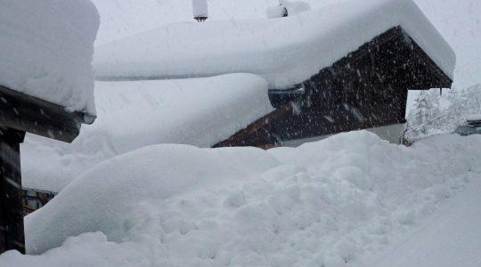 Een (extreem) sneeuwrijke winter op komst?