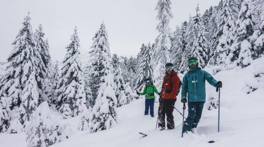 Terugblik op ons (sneeuwrijke) weekend!