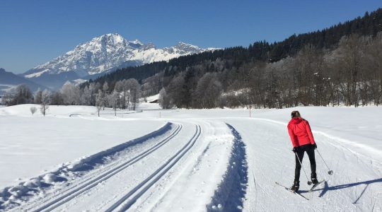Fotobericht: Langlauf skating in Saalfelden-Leogang