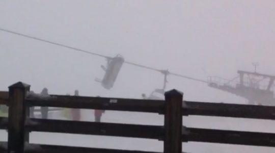 Van zware (gevaarlijke) storm tot prachtige sneeuwval