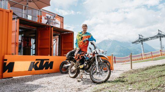 Geheimtipp: E-motorcrosspark Schmitten Zell am See