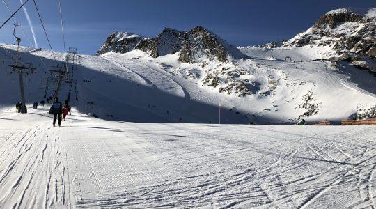 Valentijn trapt winterseizoen af op de Kitzsteinhorn