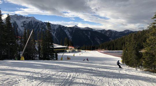 Kunstsneeuw skiën op de Planai – Schladming