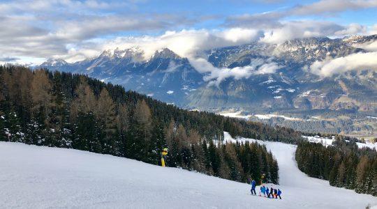 Uitstekende december pistes op de Hauser Kaibling