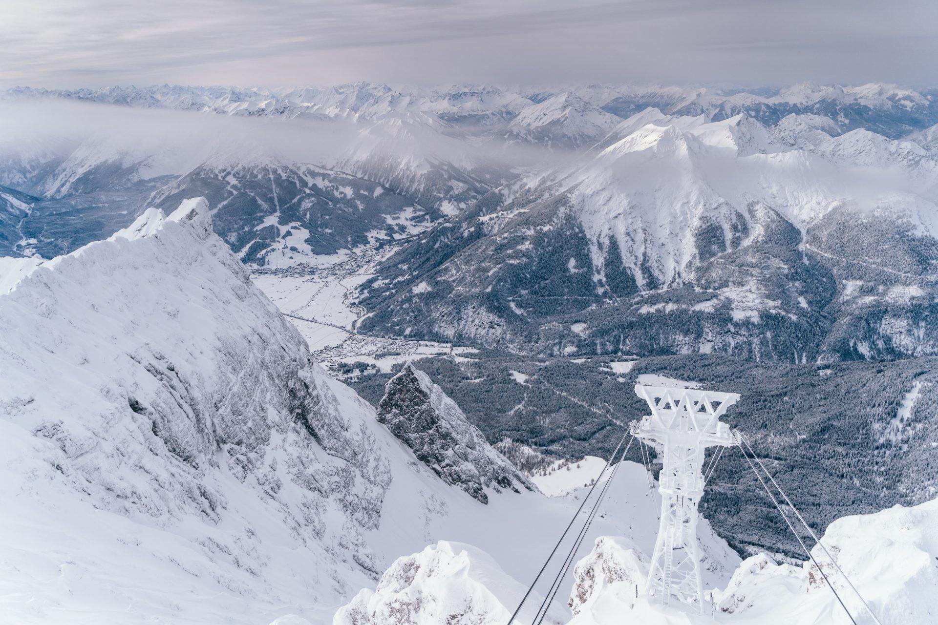 Tiroler Zugspitz Arena winter