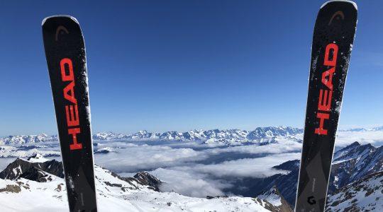 Droombeelden vanaf de Kitzsteinhorn boven Kaprun