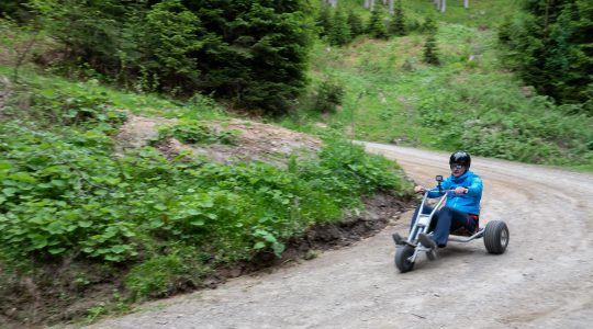 2 x 2 ritten voor de Mountain Carts op de Muttereralm