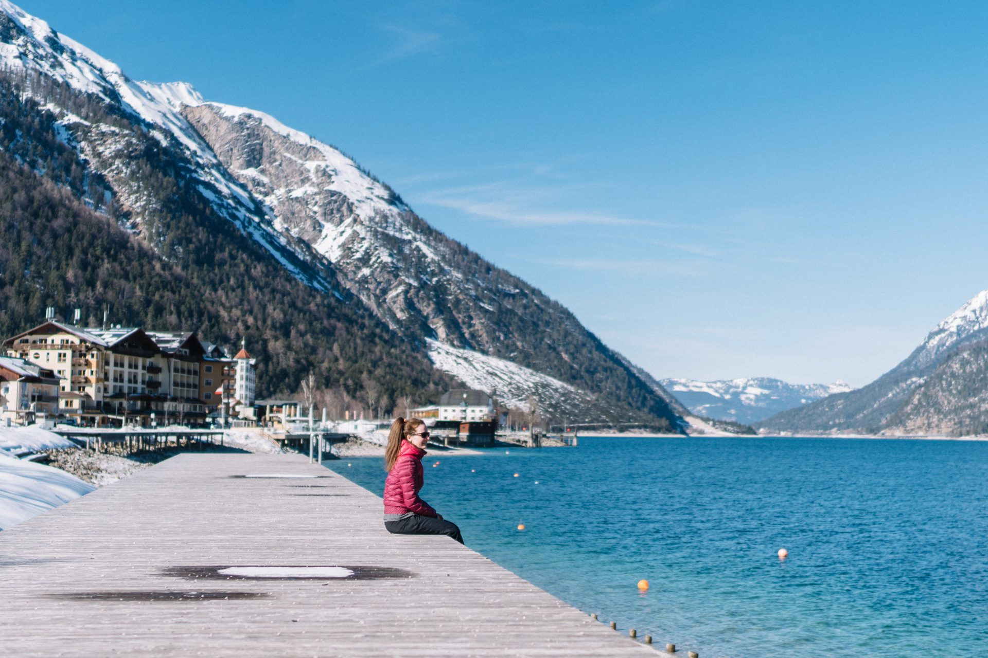 Op wintersport in Achensee