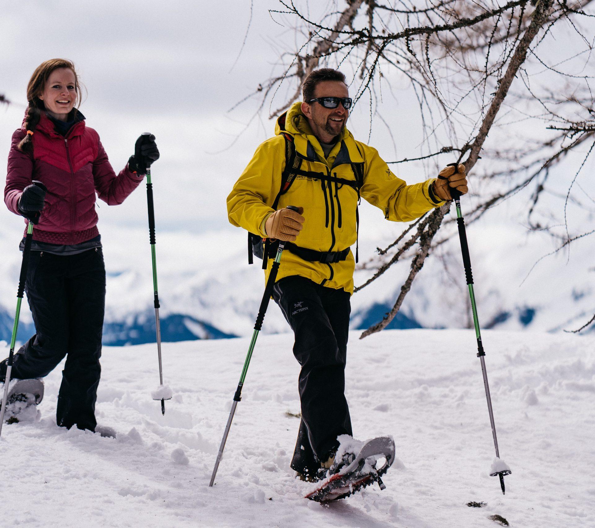 Sneeuschoenwandelen Sankt Johann in Salzburg | Oostenrijk TV