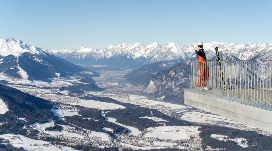 Skigebied Patscherkofel & Bergisel skischans Innsbruck