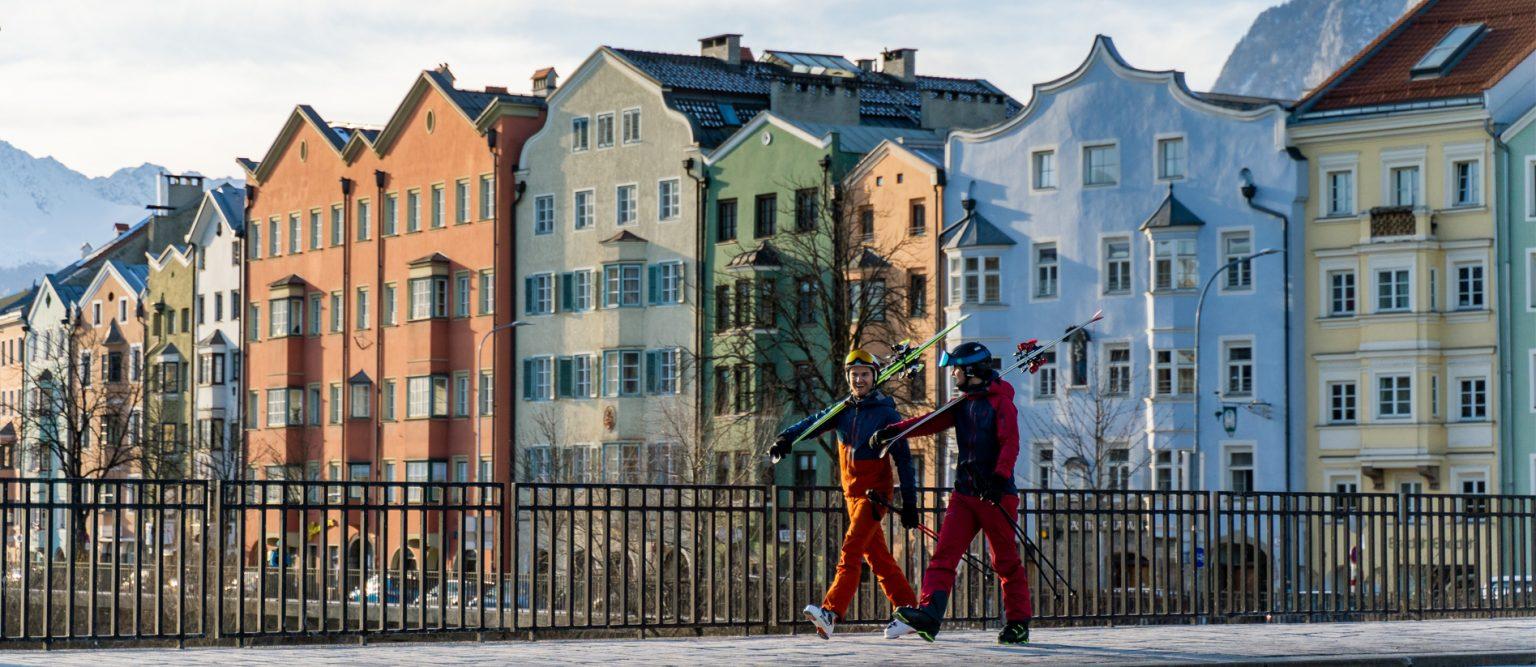 Banner background Innsbruck winter(3)