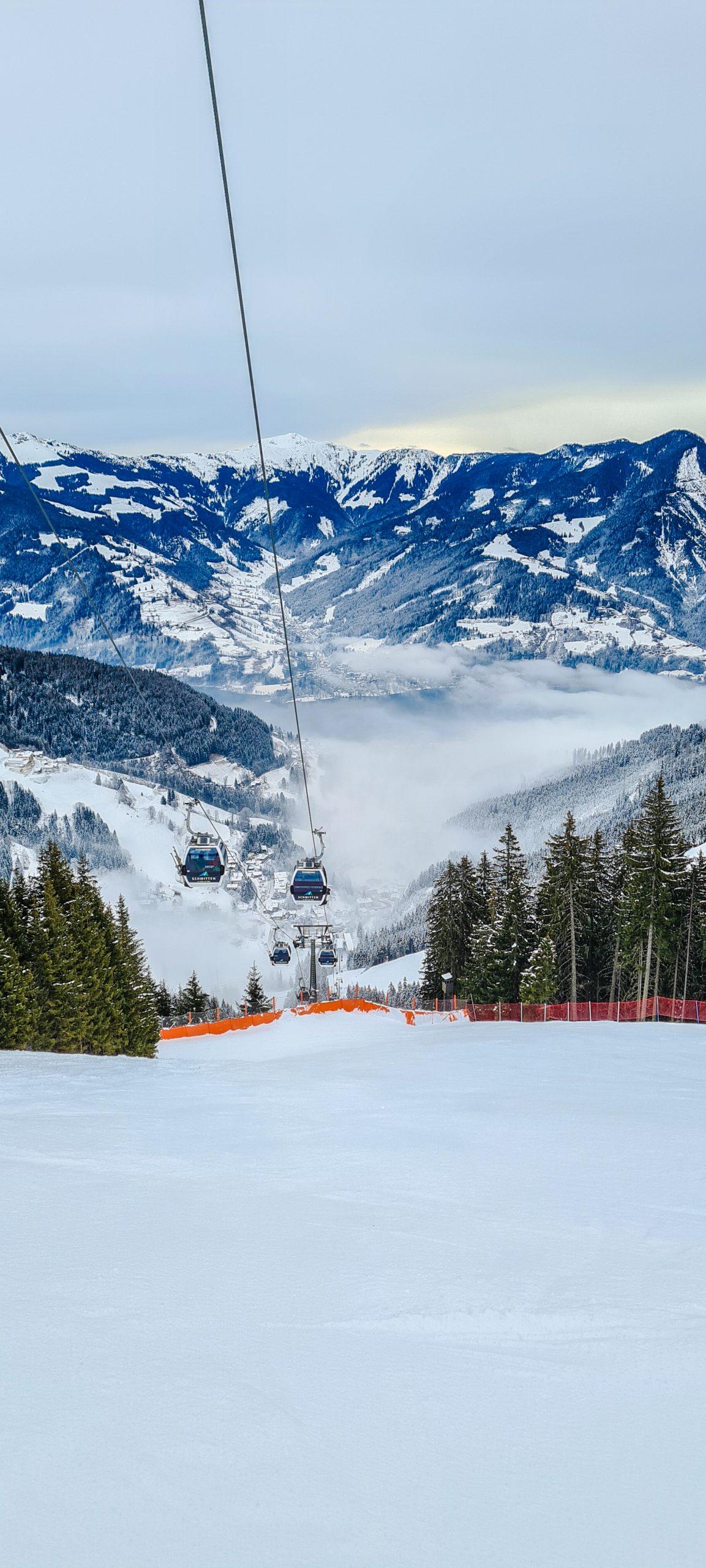 Skiën tijdens de lockdown in Zell am See - Kaprun
