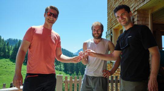Een alm bezoeken in het Bregenzerwald
